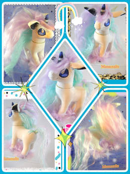 Galarian Ponyta custom pony