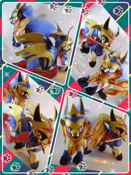 Pokemon Sword and Shield Zamazenta and Zacian