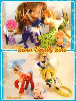 Seven Deadly Sins Anime custom ponies
