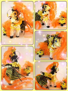 Bee sama and her baby Bumblehooves