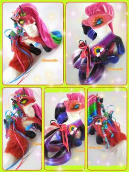 Polysexual and Genderfluid Pride ponies