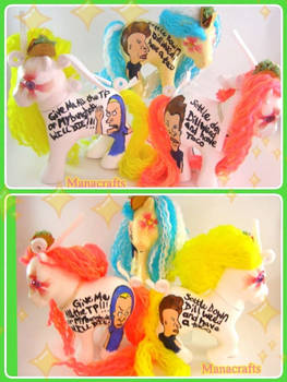 Beavis and Butthead TP and Taco ponies