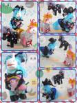 Animal Crossing Equines by LightningMana-Crafts