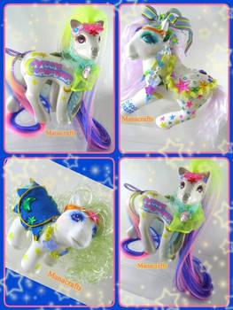 Moon Dreamers inspired ponies