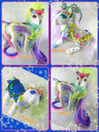 Moon Dreamers inspired ponies by LightningMana-Crafts