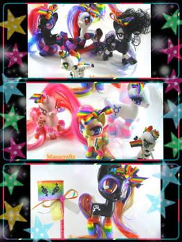 LGBTQ+Black Pride Parade ponies