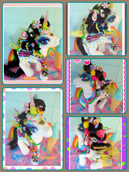 10 in. Power Puff Girls Decora crossover pony