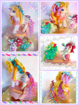 Lady Lovely Locks crossover mlp set