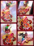 Candy Corpse Demon Pony by LightningMana-Crafts