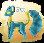 Zaric The Velcren by Kitsentuu