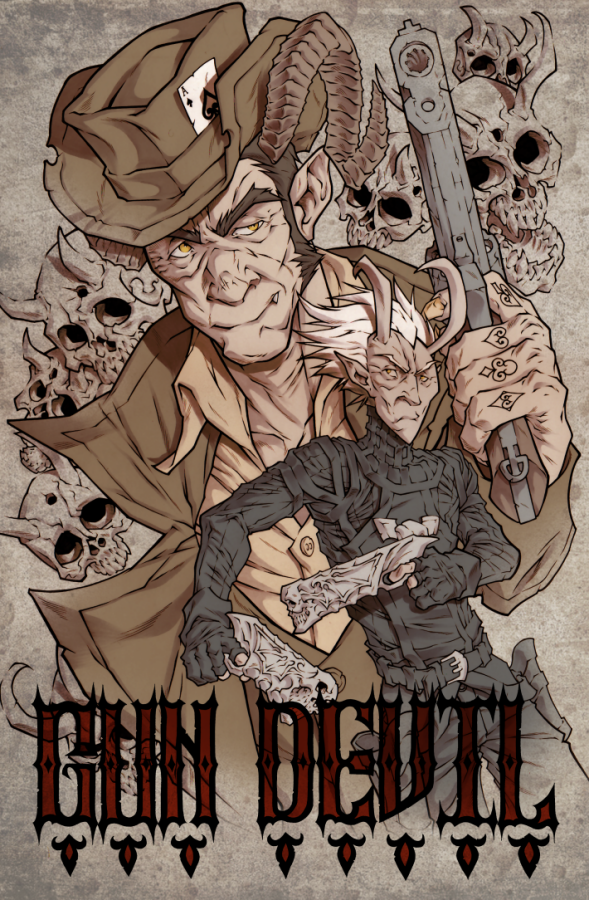 Gun Devil issue 1 Final by NoahW