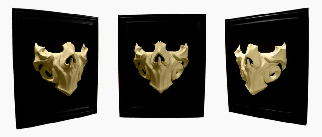 Bone half-mask by NoahW