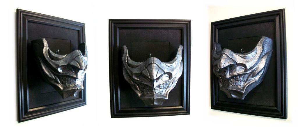 Samurai Half-Mask by NoahW