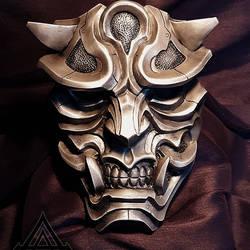 Metallic Hannya mask final
