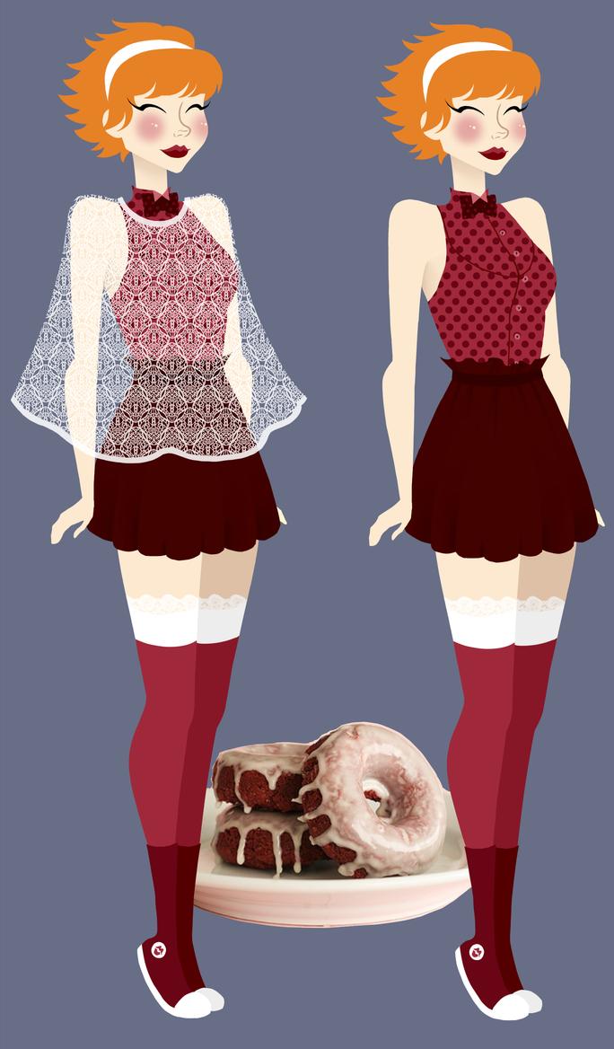 Red Velvet Doughnut by shoyshoy