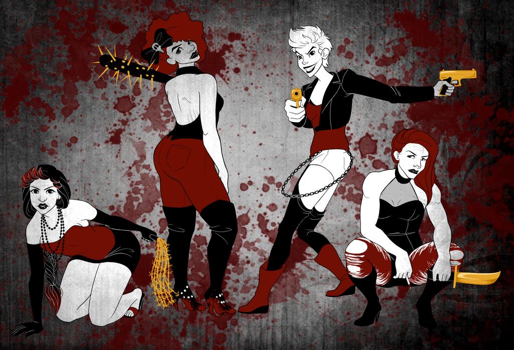 Femme Fatales by shoyshoy