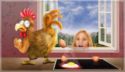 Selbst ist das Huhn - Self is the chicken