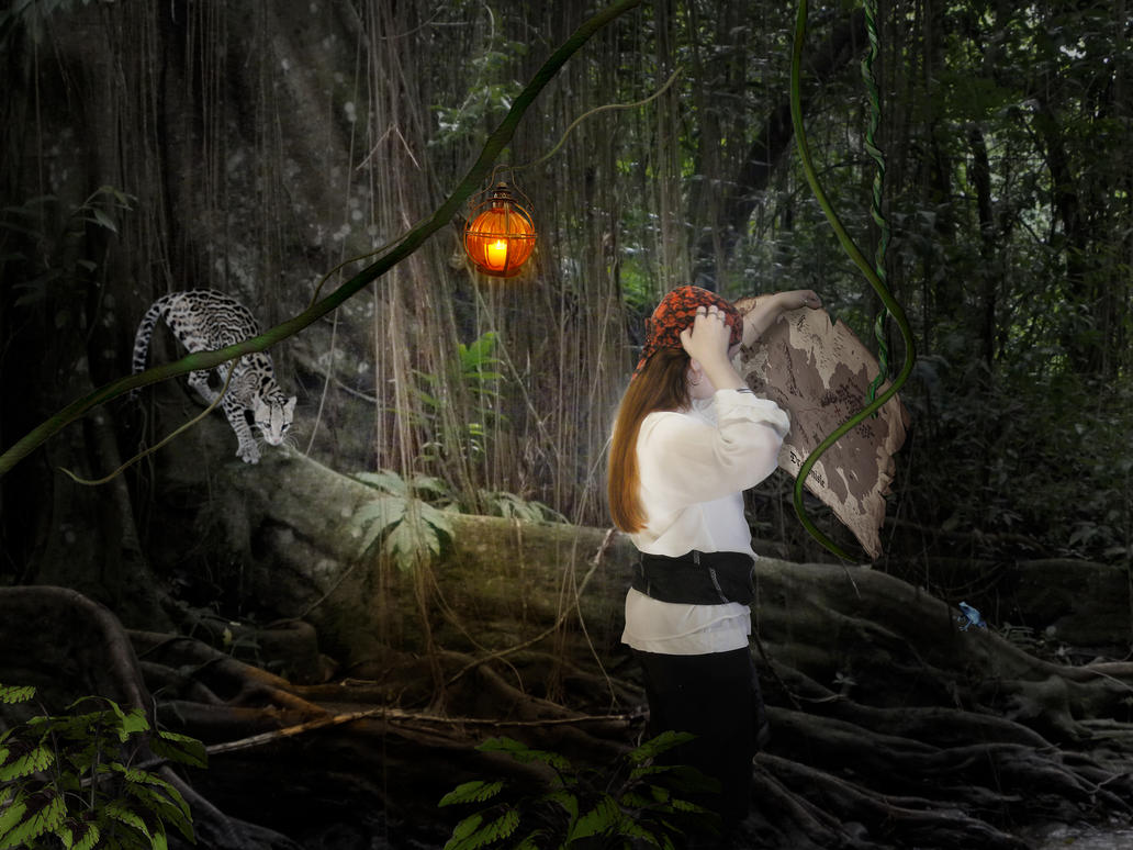 Lost in the jungle by Ayi82