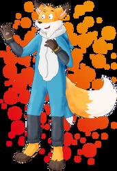 Art Trade: Socks the Fox by Ayi82