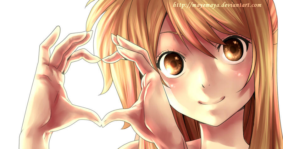 Lucy Heartfilia Lineart : Lucy heartfilia by mayemaya on deviantart