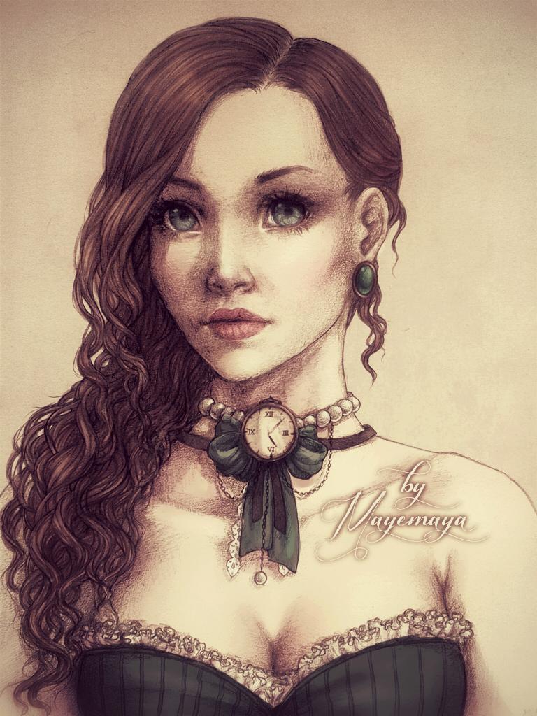 Aristocratic Lady by MayeMaya