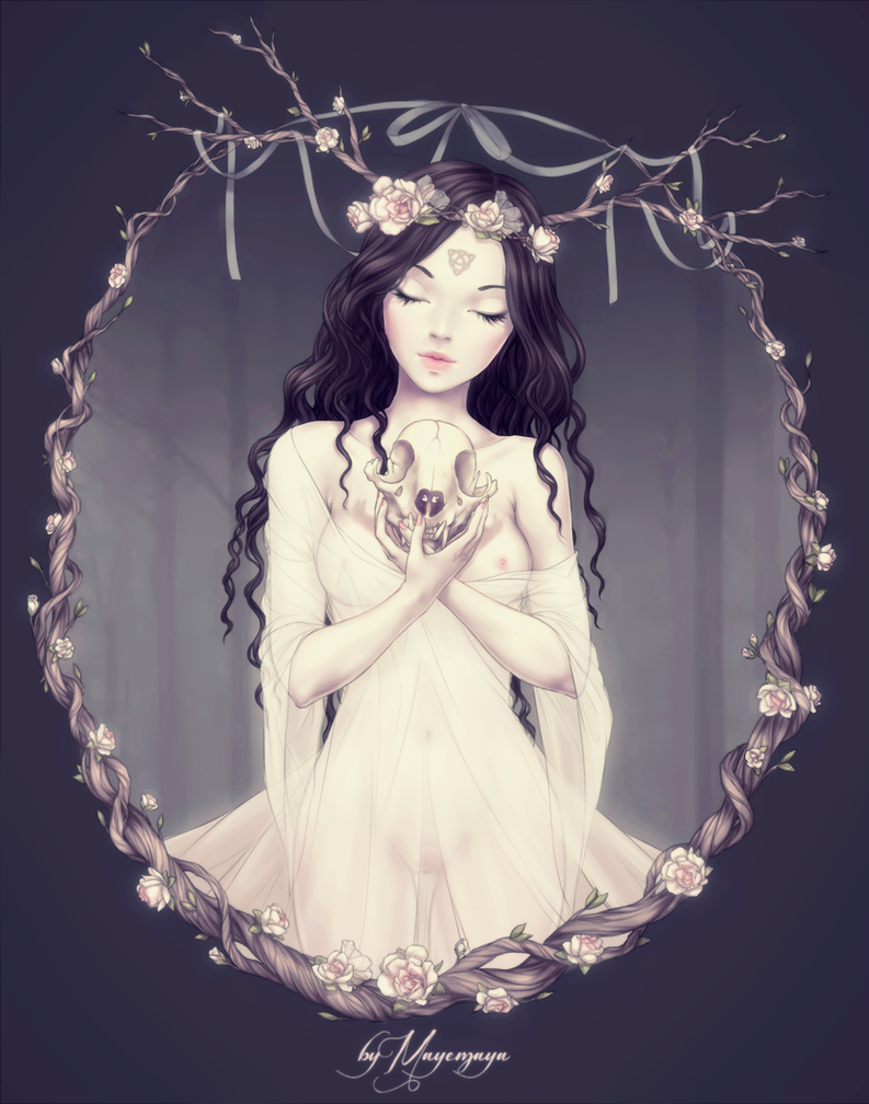Forest Nymph by MayeMaya