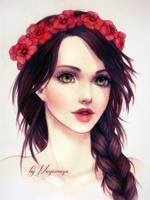 Poppies by MayeMaya