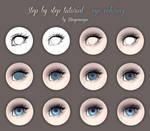 Step by step tutorial - eye coloring