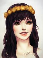 Dandelions by MayeMaya