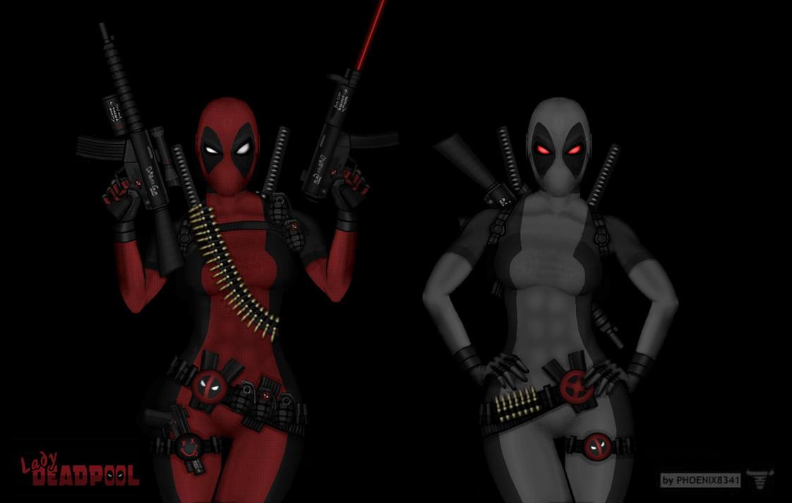 X Force Deadpool Lady Deadpool 2V - X-force by