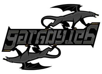 Gargoyles Ambigram V2 by PHOENIX8341