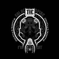 Advanced Tie Fighter pilot - V1 by PHOENIX8341
