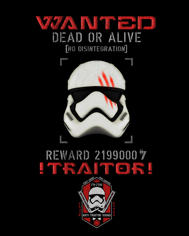 WANTED TRAITOR FN-2187 by PHOENIX8341
