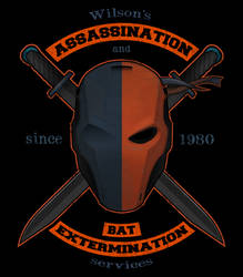 Deathstroke's mercenary services by PHOENIX8341