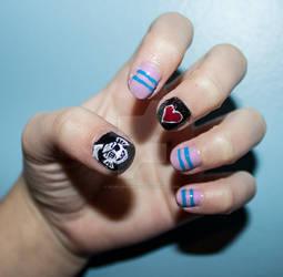 Undertale Nails - Undyne