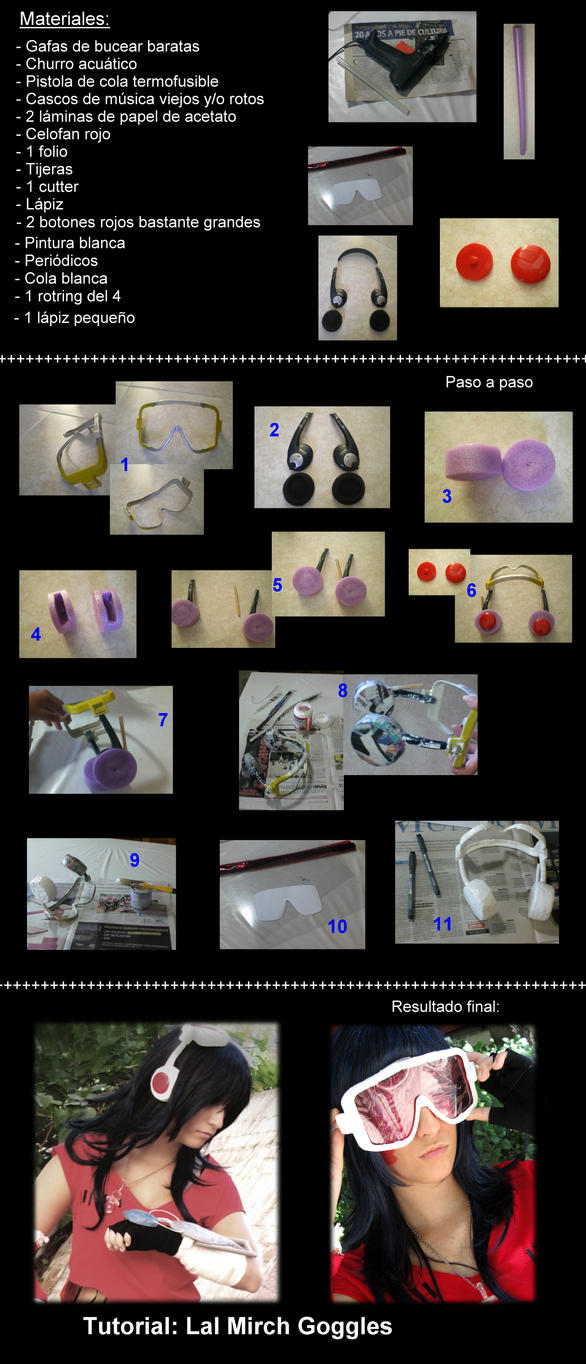 Lal Mirch Goggles Tutorial by Tina-Jack