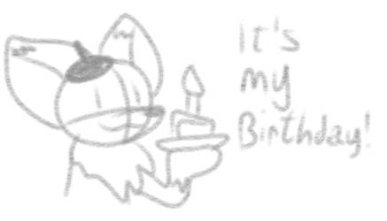 Guys, today is my birthday!