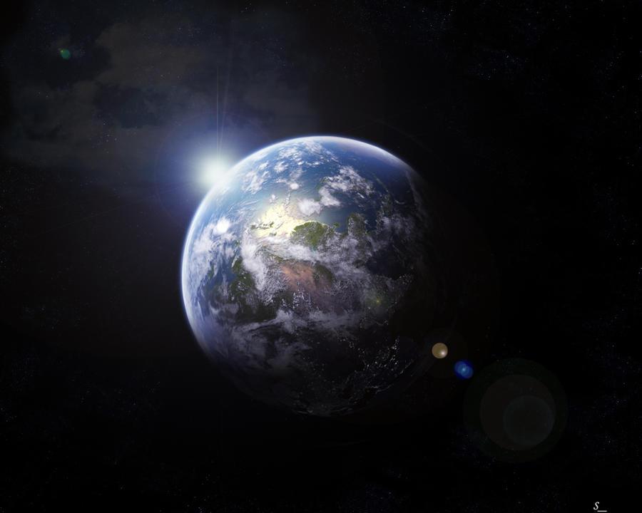 Planet Earth by saker10 on DeviantArt