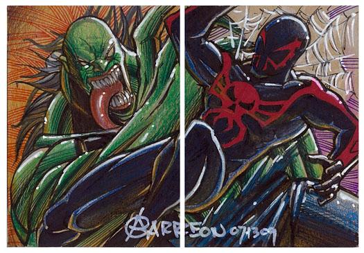 Spider-Man 2099 Vs. Hulk 2099 By Artstudio On DeviantArt