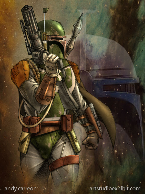 BOBA FETT by artstudio