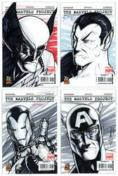 Marvel 70th Anniversary covers by artstudio