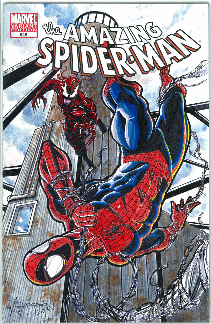 Spiderman vs carnage drawings - photo#6