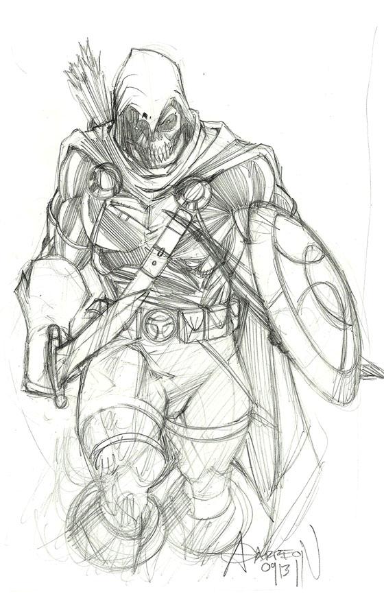 Taskmaster Pencil by artstudio