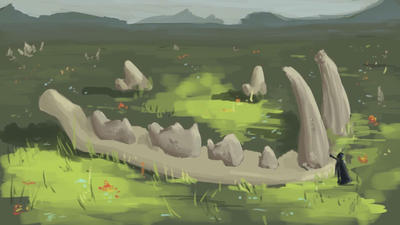 Daily Spitpaint 001 by phoneallbroken