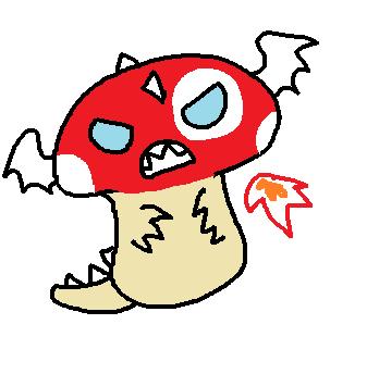Dragonshroom by starwish-chan