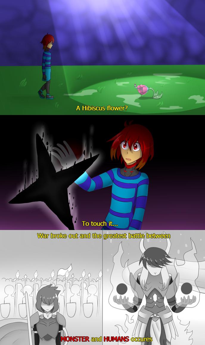 SorrowTale - Comic Fake Screenshot by FukuroMami555