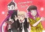 Danganronpa - Strawberry trio!