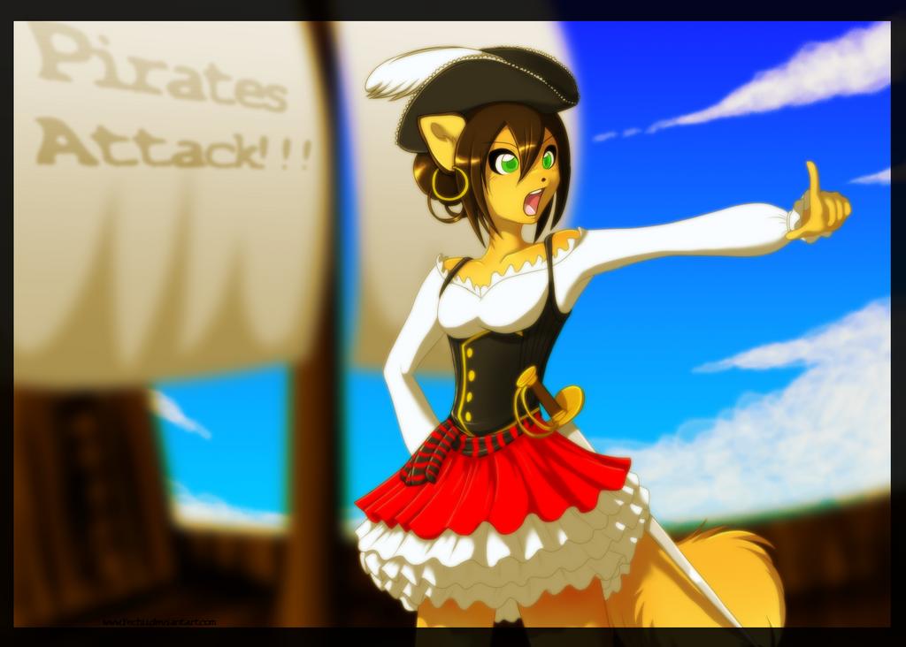 Pirates attackkkk!!! by Yechii