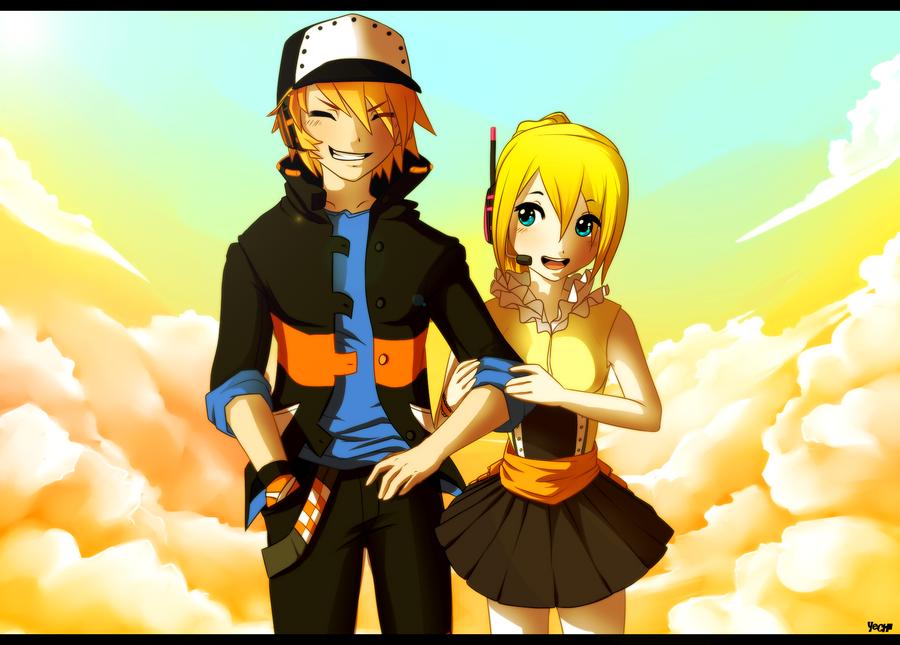 Reiki and Shiki+Speedpaint by Yechii