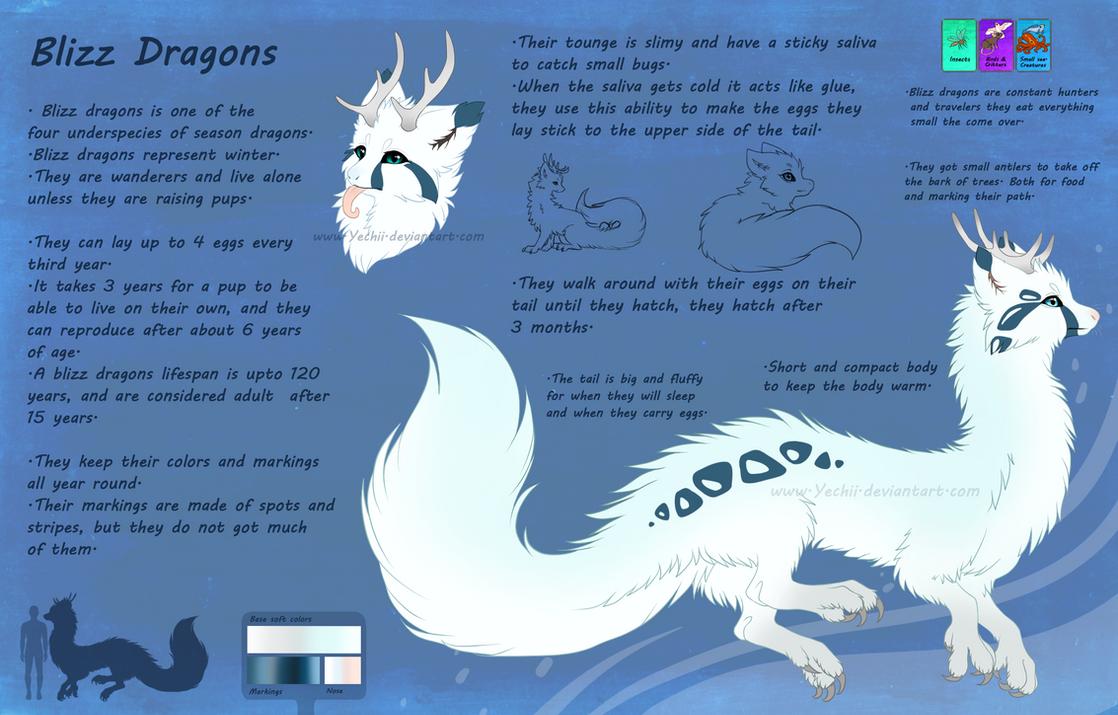 Blizz Dragon-Species by Yechii on DeviantArt